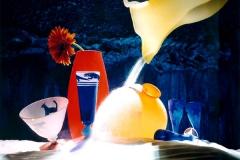 Artikelserie om sandblæst glas for Bo Bedre. Fotograf: Karsten Damstedt Jørgensen. Fotostyling: Abby Weisgard
