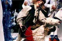 Royal Copenhagen - København Foto: Karsten Damstedt Jørgensen. Koordinering og projektstyring af Kulturnattens udstillinger hos Royal Copenhagen. Her i samarbejde med scenograf og kunstneren Anja Gram