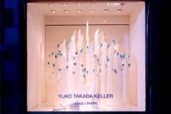Yuko Takada Teller - papirkunstner: vindue for Royal Copenhagen