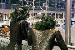Juleudstilling til Københavns Lufthavn i samarbejde med Mikkel Sonne