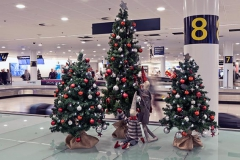 Julenisser til Københavns Lufthavn. Samarbejde med Mikkel Sonne